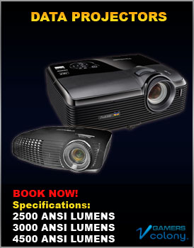 Data projectors for rent