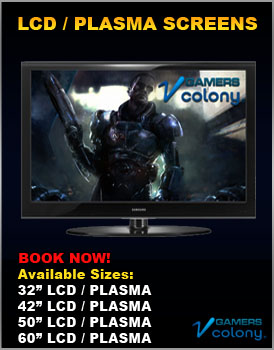 LCD Plasma screens for rent