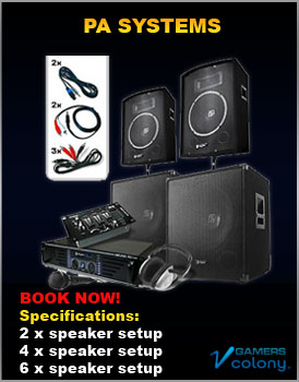 PA Systems for rent