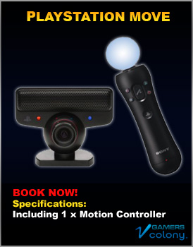 Playstation Move for rent