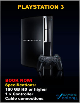 Playstation 3 for rent